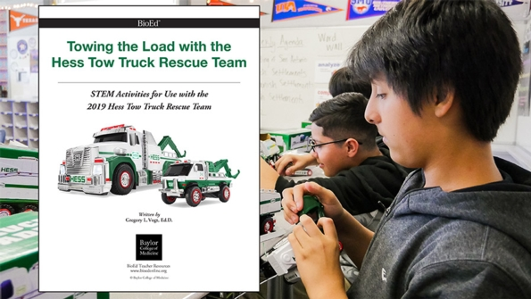 Towing the Load with the Hess Tow Truck Rescue Team