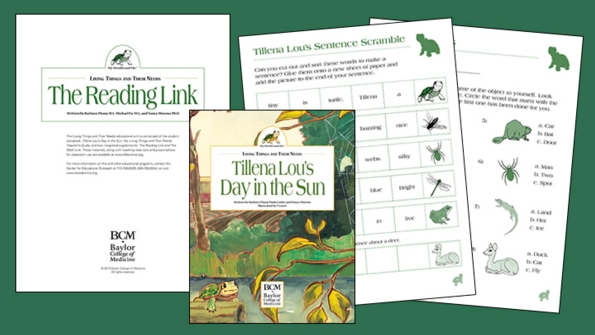 Living Things and Their Needs: The Reading Link