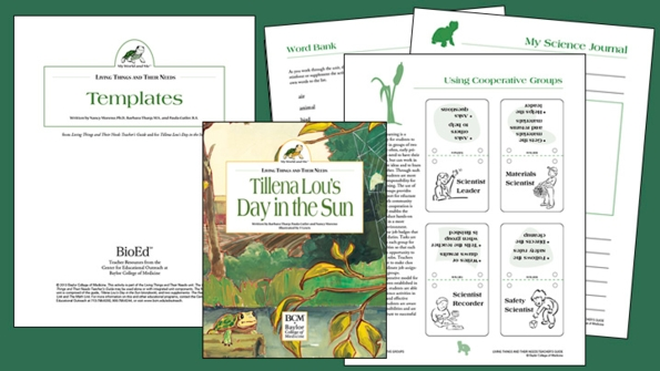 Living Things and Their Needs: Templates